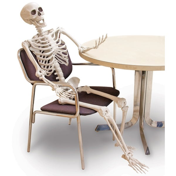 "60"" Posable Skeleton Halloween Décor"