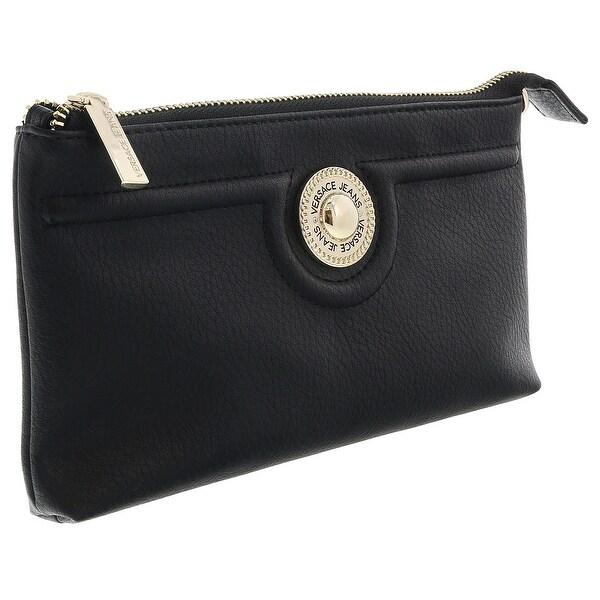 Versace EE3VRBPL3 Black Wallet on Chain - 7.5-4.5-1