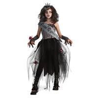 Goth Prom Queen Deluxe Child Costume