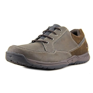Nunn Bush Horicon Youth Round Toe Synthetic Brown Oxford
