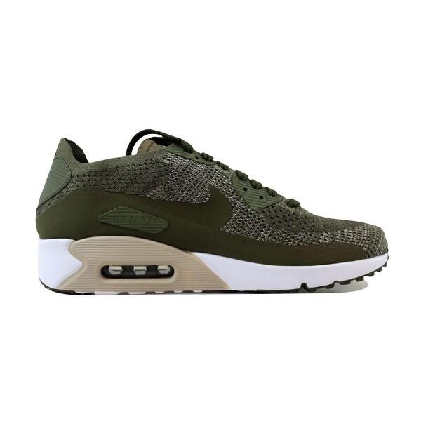 Nike Sportswear AIR MAX 90 ULTRA 2.0 FLYKNIT Trainers olive