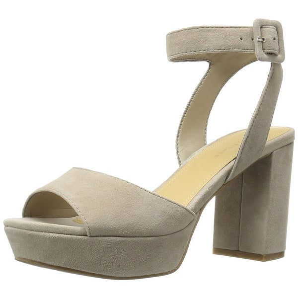 Marc Fisher Womens Meliza Fabric Open Toe Casual Ankle Strap Sandals