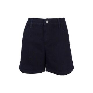 Lauren Ralph Lauren Women's Solid Denim Shorts - INDIGO