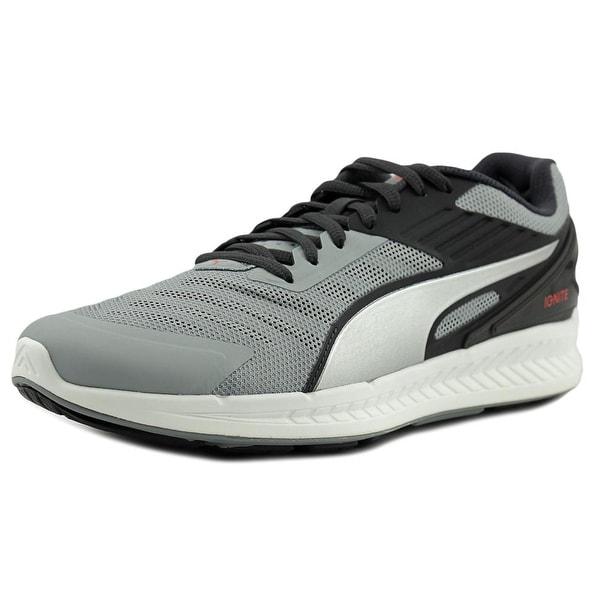 le dernier 6f59d 6051f Shop Puma Ignite v2 Men Round Toe Synthetic Gray Running ...