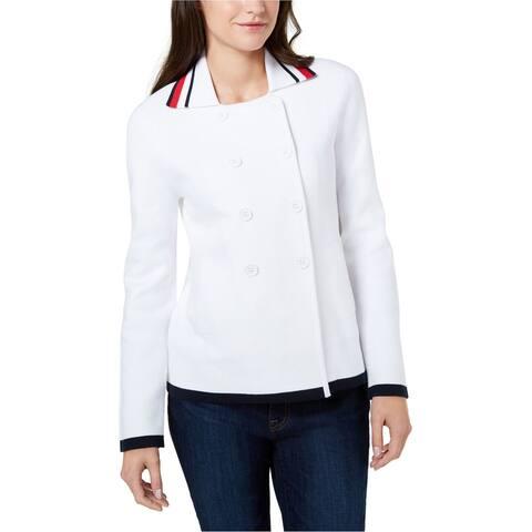Tommy Hilfiger Womens Sweater Pea Coat