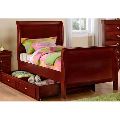 Emmet Louis Phillippe Bedroom Set (4pc/ 5pc)