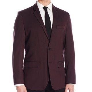 Kenneth Cole Reaction NEW Purple Mens XL (47) Two Button Blazer