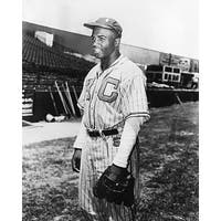 ''Jackie Robinson, Kansas City Monarchs, 1945'' by McMahan Photo Archive African American Art Print (10 x 8 in.)