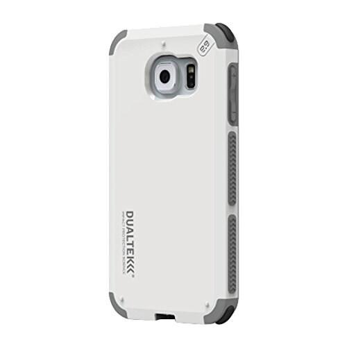 PureGear DualTek Extreme Shock Case for Samsung Galaxy S6 - Artic White