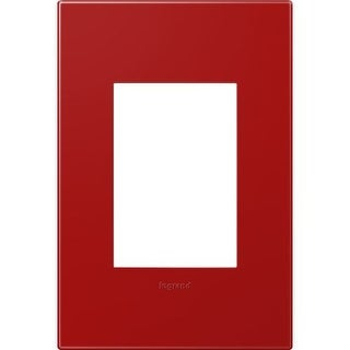 Legrand AWP1G3CH4 Adorne 1-Gang+ Wall Plate - 4.56 Inches Wide