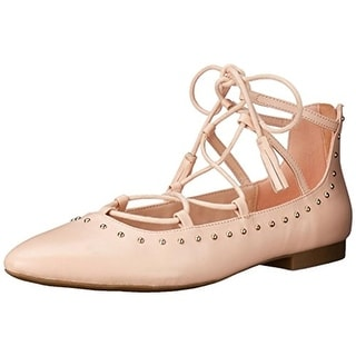 Bella Vita Womens Ollie Leather Studded Ballet Flats - 6.5 narrow (aa,n)