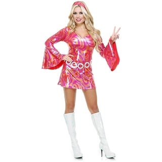 Disco Diva Hot Fuchsia Swirl