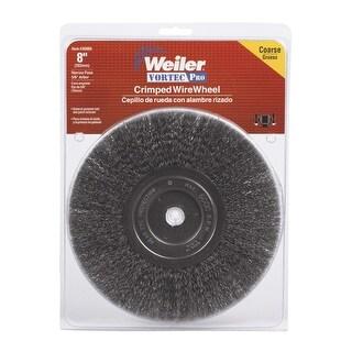 """Weiler 36005 Vortec Pro Crimped Wire Wheel, 8"""""""