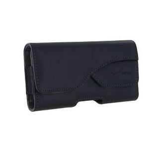 Verizon Universal Leather Pouch for Apple iPhone 5/5S/5C, Motorola Droid RAZR MA