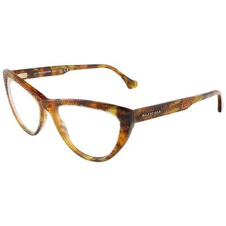 Balenciaga BA5036/V 055 Colorful Havana Cat Eye prescription-eyewear-frames