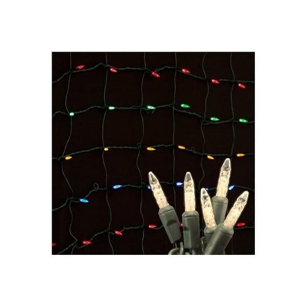 Christmas at Winterland S-4X6MMWW-NG 4X6 Foot M5 Warm White LED Net Lights