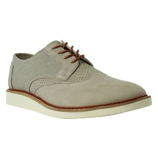 TOMS Mens 10007954_9 Taupe Oxford Dress Shoe Size 9