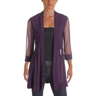 R&M Richards Womens Jacket Illusion 3/4 Sleeves