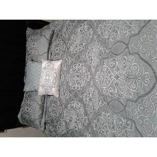 Shop Madison Park Anouk Jacquard 12 Piece Complete Bed Set