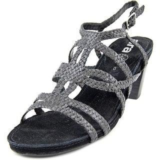Ara Raven Women Open-Toe Leather Slingback Heel
