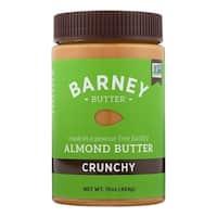Barney Butter Almond Butter - Crunchy - Case of 6 - 16 oz.