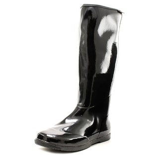 Baffin Packables Women 3A Round Toe Synthetic Black Rain Boot