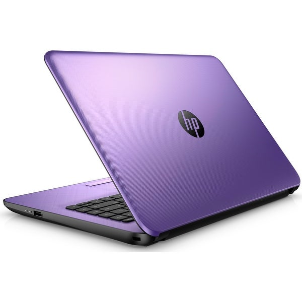 "HP 17-x034DS Intel N3710 Quad-Core, 8GB, 2TB HDD, 17.3"" HD+ WLED, Notebook (Certified Refurbished) - Purple"