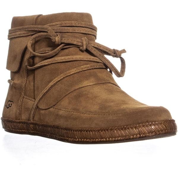 35a0174368ec Shop UGG Reid Flat Ankle High Boots