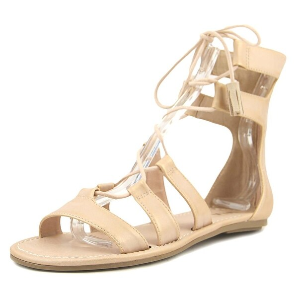 Mia Ozie Women Blush Metallic Sandals