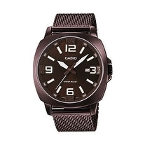 Casio Metal Fashion Analog Bronze ION Plated Watch
