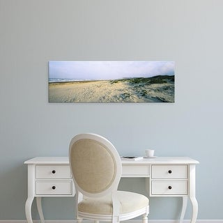 Easy Art Prints Panoramic Images's 'Beach, South Padre Island, Texas, USA' Premium Canvas Art