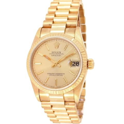 Pre-owned 31mm Rolex Datejust Watch - One Size