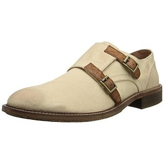 Donald J. Pliner Mens Canvas Monk Strap Casual Shoes