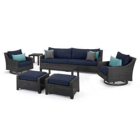 Deco 8 Piece Sofa & Motion Club Chair Set
