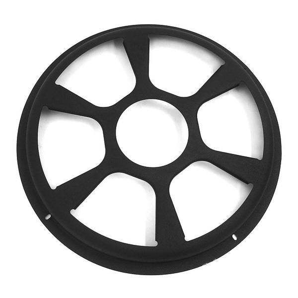 """10"""" Outer Dia Plastic Round Shaped Car Horn Trumpet Dustproof Mesh Cover Grill"""