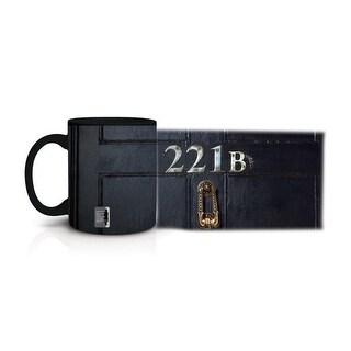 Sherlock Glow in the Dark 221B Mug