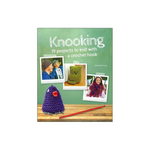 9781782212249 search press knooking knit with a crochet hook bk