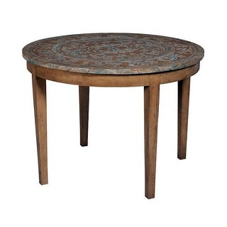GuildMaster 713544 Artisan 42 Inch Diameter Mahogany Accent Table