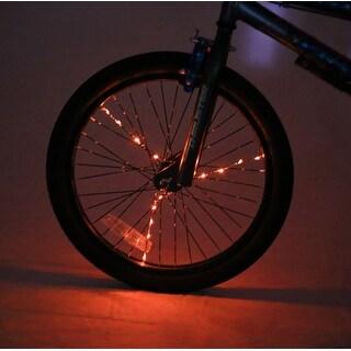 Spoke Brightz LED Bicycle Spoke Accessory, Orange - multi