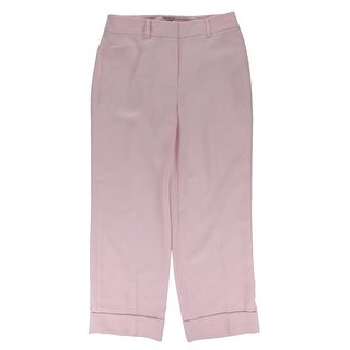 Vince Camuto Womens Cropped Pants Polyester Cuffed