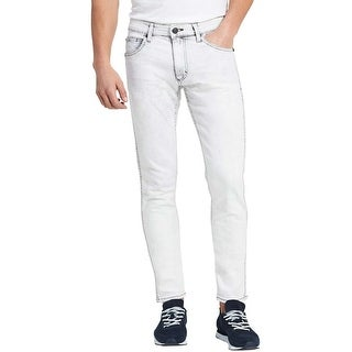 Calvin Klein Jeans Sculpted Slim Fit Beach White Jeans 34 x 32