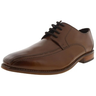 Florsheim Mens Castellano Leather Bike Toe Derby Shoes
