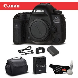 Canon EOS 5D Mark IV DSLR Camera Body Bundle (Intl Model) (4 options available)