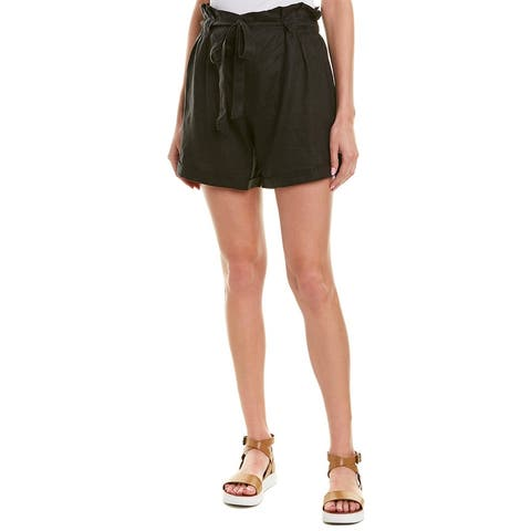 4Our Dreamers High-Waist Linen Short