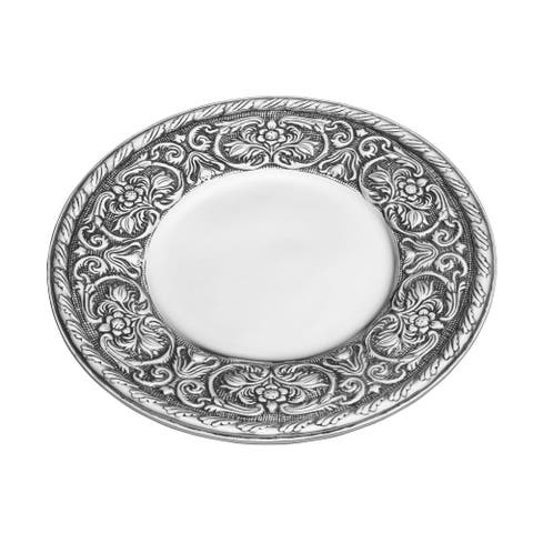 Wilton Armetale William And Mary Round Tray 13 inch