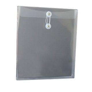 School Smart Envelope, Vertical, Letter, Clear, Pack of 12