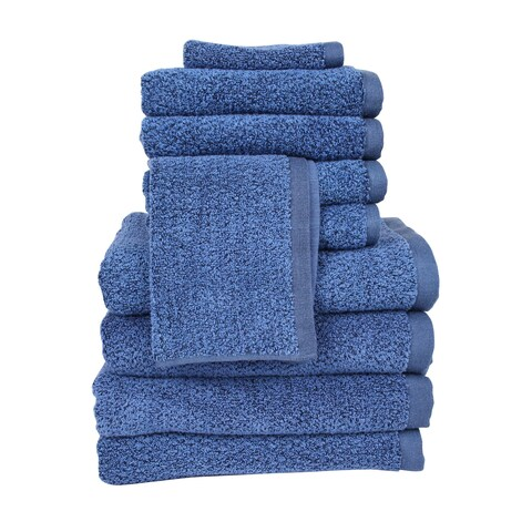 Everplush Diamond Jacquard Performance Core 10-piece Towel Set