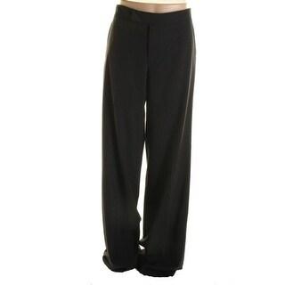 Catherine Malandrino Womens Wool Wide Leg Dress Pants - 40