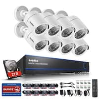 SANNCE 16CH 720P Video Cameras Surveillance System
