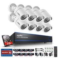 SANNCE 16CH 720P Video Cameras Surveillance System